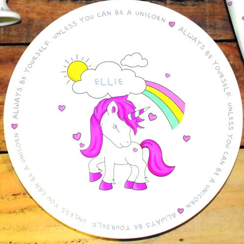 Unicorn Personalised Breakfast Set