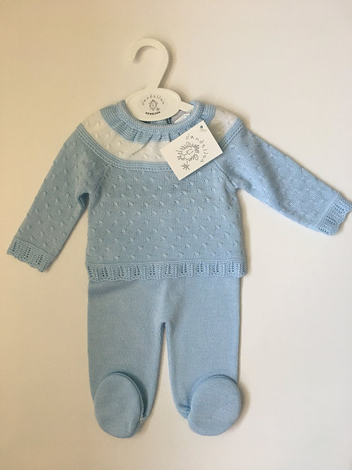 Dandelion Baby Boys Two Piece Knitted Set