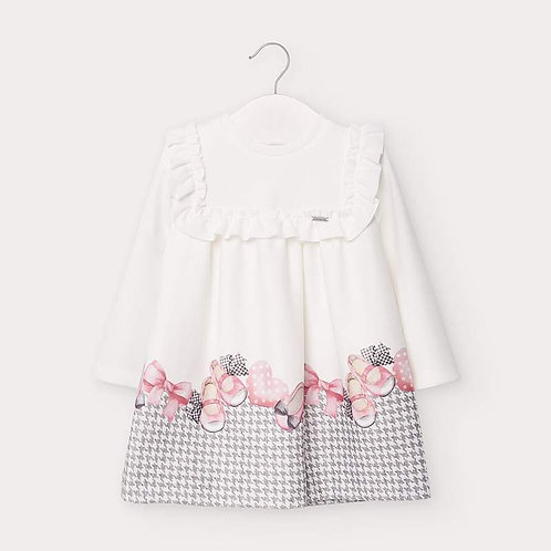 Mayoral Baby Girls Long Sleeve Dress