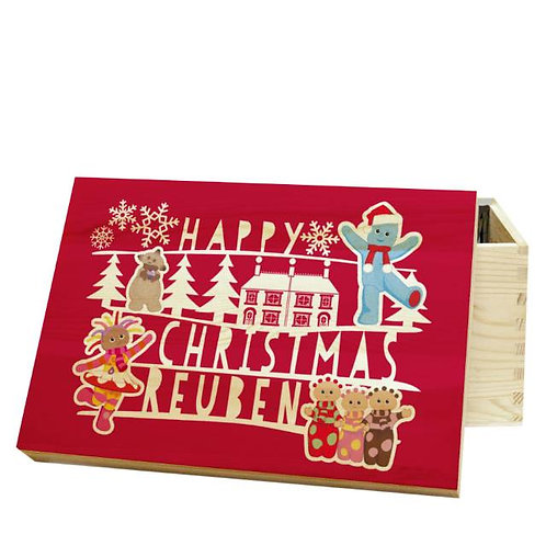 Personalised Christmas Eve Box: In the Night Garden