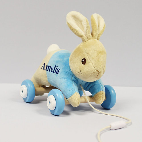 Peter Rabbit Personalised Pull Along Toy