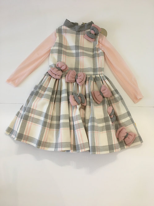 Chua Girls Dress with Pretty Bows