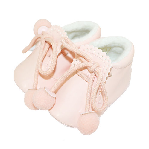 Sevva Baby Girls Pale Pink Shoes/Boots