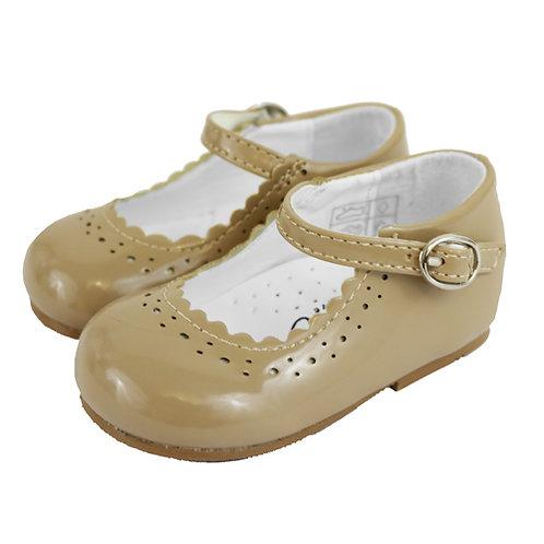 Camel Patent Shoes