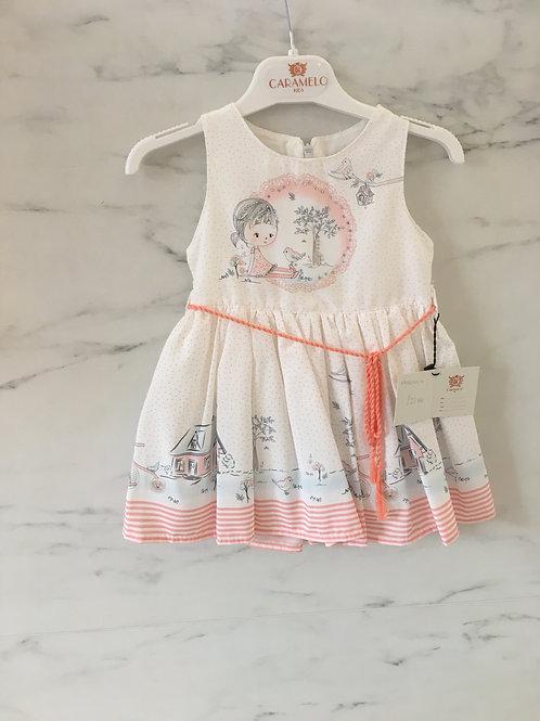 Caramelo Baby Girls Sleeveless Dress