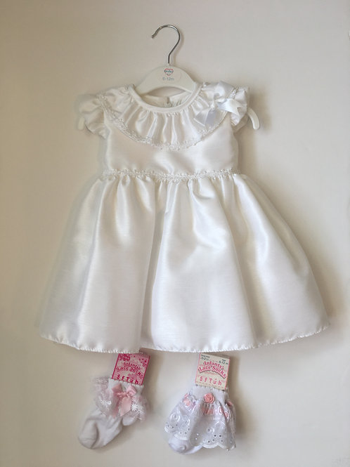 Kinder British Made Baby Girls Special Occasion Dress
