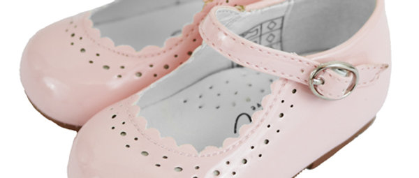 Pale Pink Patent Shoes