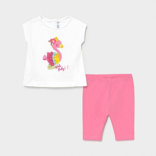 Mayoral Girls Summer Top & Shorts Set