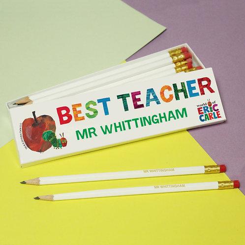 Best Teacher Gift Pencils