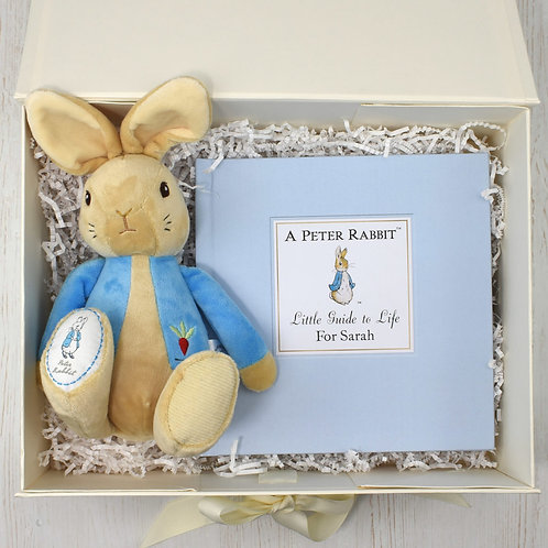 Peter Rabbit Personalised Book & Toy Set
