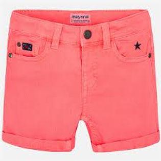 Mayoral Boys Bright Orange Shorts