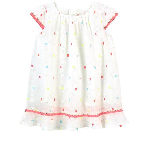 Billieblush Printed Cotton Dress