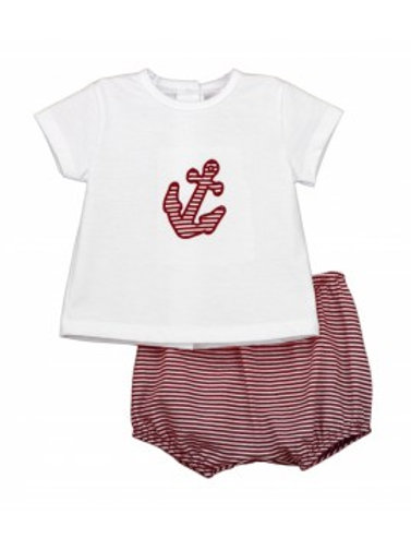 Rapife Baby Boys Two Piece Top & Shorts Set