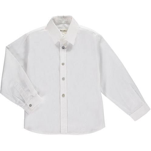 Benedita Boys White Soft Cotton Shirt