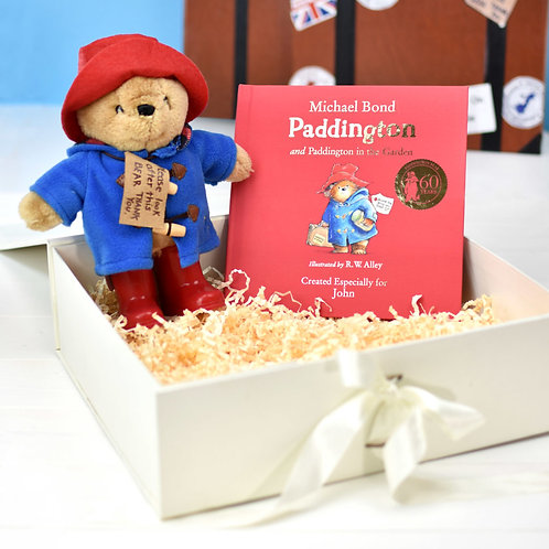 Paddington Bear Personalised Book and Teddy Set