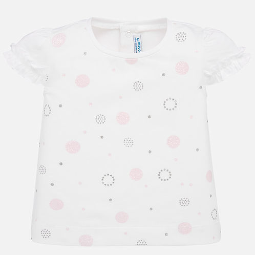 Mayoral Baby  Girls Short Sleeve T Shirt