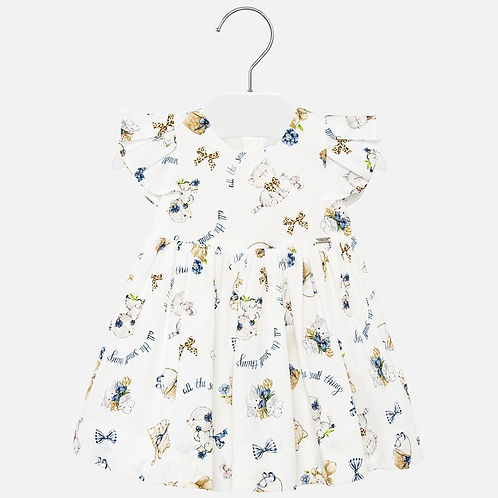 Mayoral Baby Girls Cute  Print Dress