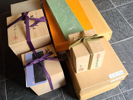 茶道具を沢山お売りいただきました!|茶道具買取|山形香月苑