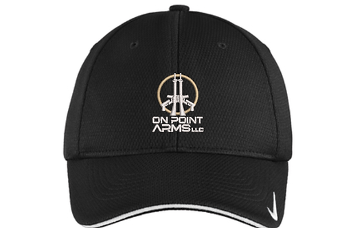 On Point Arms fitted golf style hat.