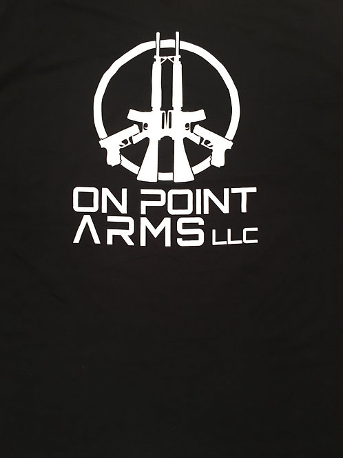 On Point Arms heavy cotton T-shirts.