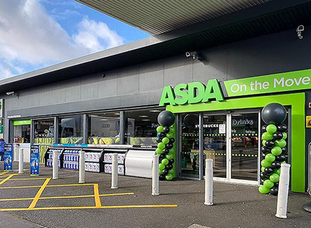 ASDA's £6.8 billion takeover & the UK's first 'ASDA On the Move' concept forecourt store.