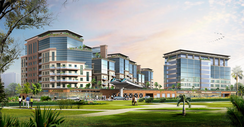 Naboodah Comm&Residential Building