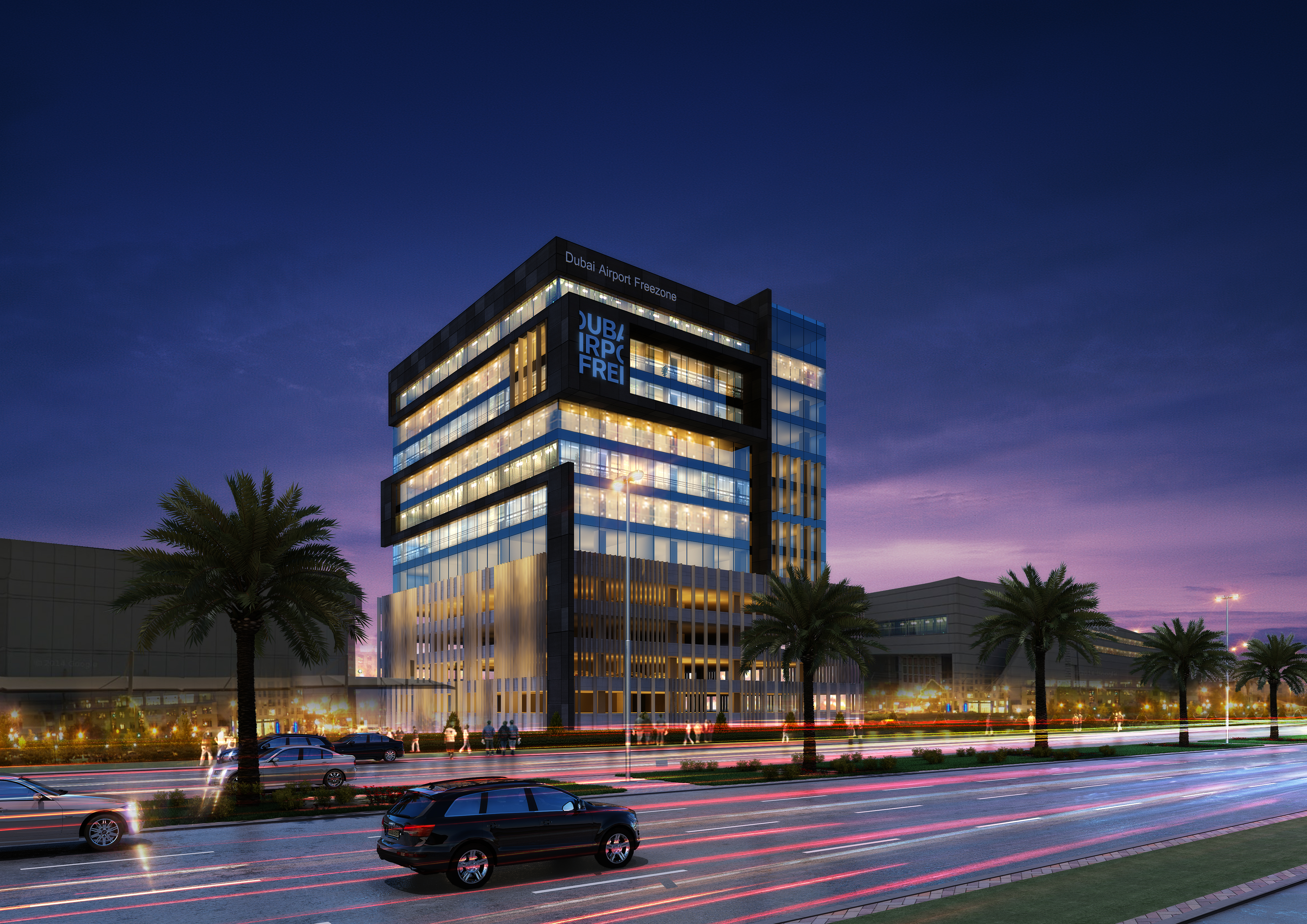 DAFZA Office Buildings