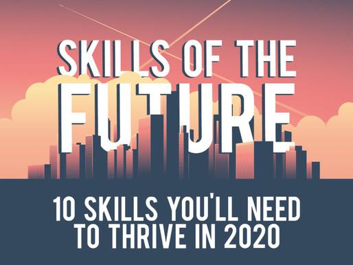 חדשנות בתחום התעסוקה: עשרה מיומנויות שצריך לשלוט בהם כדי להצליח בשוק העבודה בשנת 2020