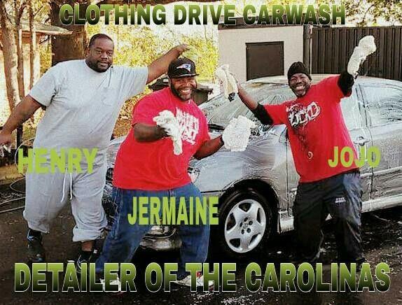 Carwash Clothing Drive
