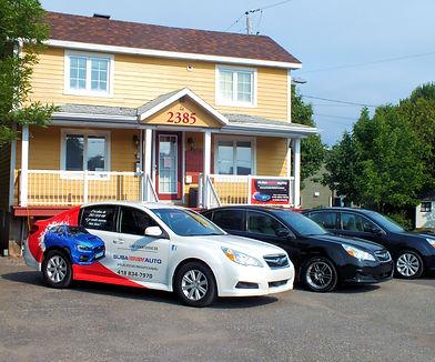 Atelier de réparation pour autos SUBARU, mécanicien spécialiste à Lévis, rive-sud de Québec