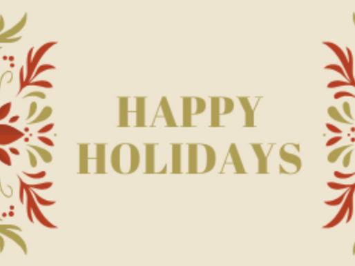 December Newsletter: Happy Everything