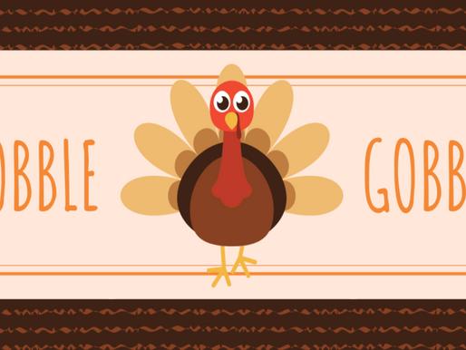 November Newsletter: Thankful, Grateful, and Hopeful