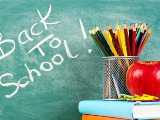 August Newsletter: Back to School (Our First Newsletter!)