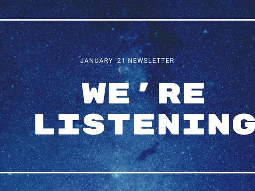 January '21 Newsletter | CES FAQ's