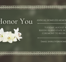 Help us honor those we lost this year.