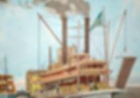 Paddle Steamers - Shot of big steamer 1.