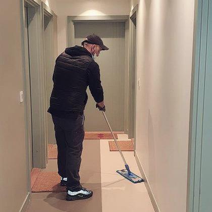 Nettoyage de couloirs