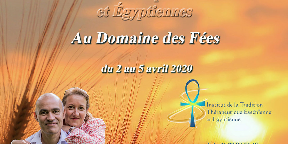 COVID19: Reporté Formation en thérapies Esséniennes et Egyptiennes