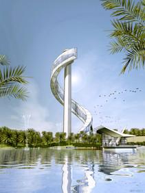 Dubai Tower Competition Cole & Goyette.J