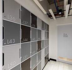 Locker spaces
