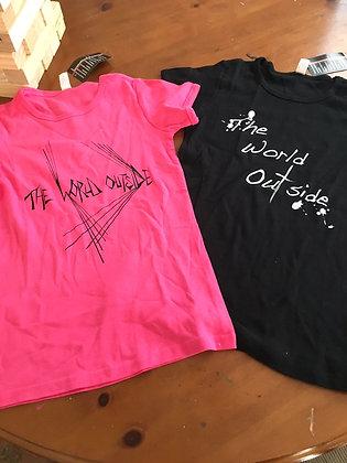 "The World Outside shirts ""Zach's New Single"""