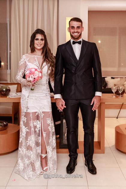Felipe Vizeu e Mariana Linhares