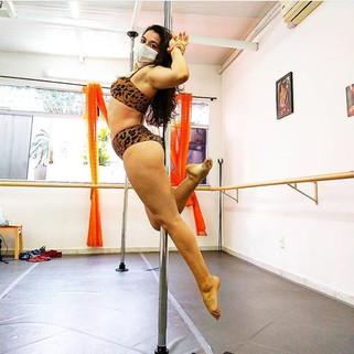 Aula de Pole Dance Tijuca