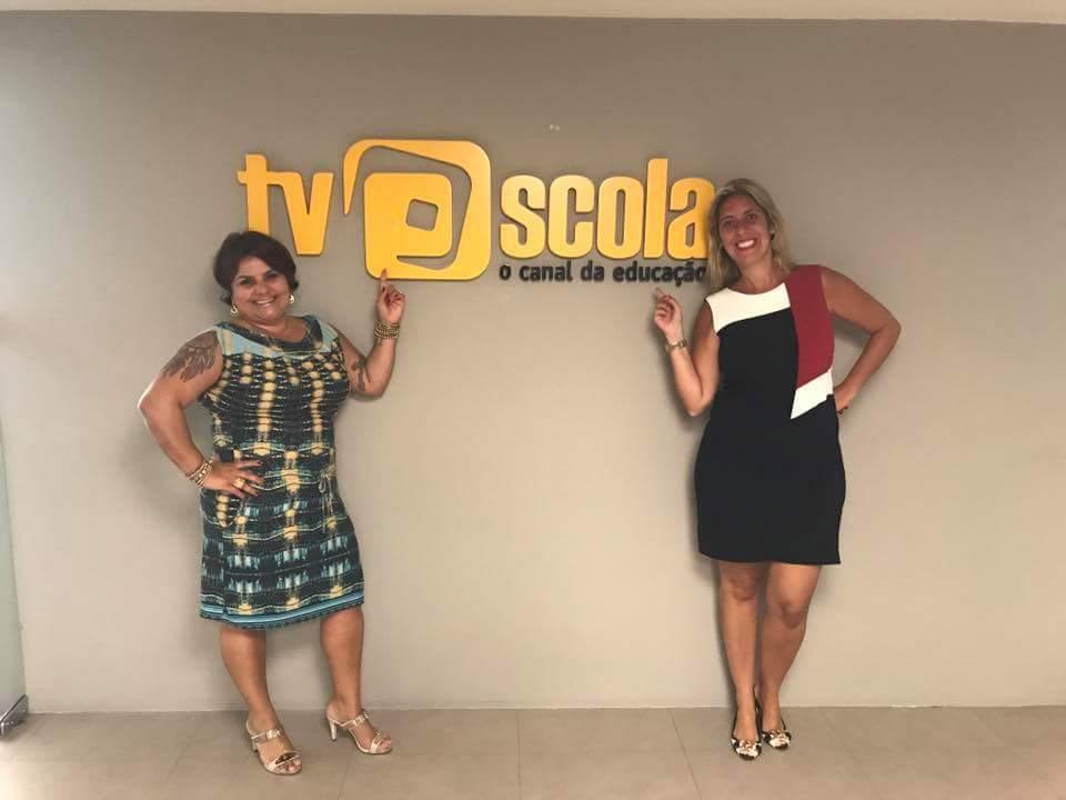 PALESTRA NA TV ESCOLA