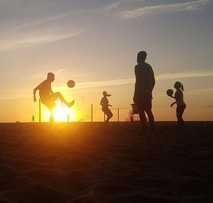Jogar Futevôlei no Rio de Janeiro