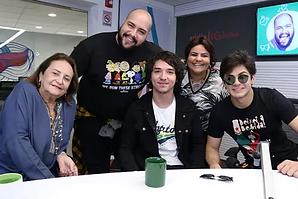 Roberta França na Rádio Globo