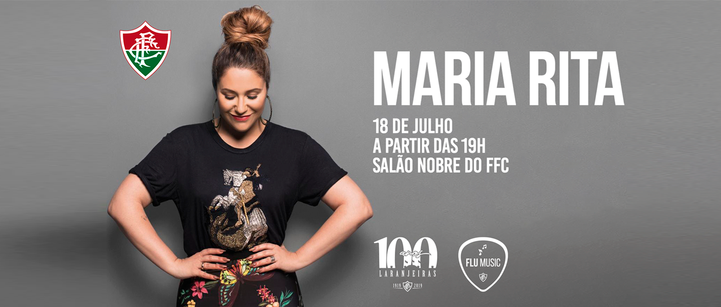 Maria Rita nas Laranjeiras