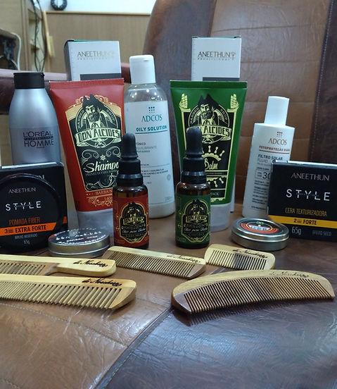 Produtos Barbearia Clube do Bolinha
