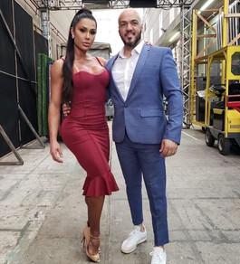 Belo e Gracyane Barbosa
