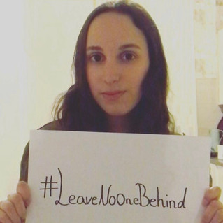#LeaveNoOneBehind